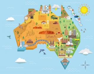 australia, mapa, inovação, alimento, engenharia, P&D, R&D, Paula Maranhão, gerente, carreira, expatriado, trabalho, desenvolvimento, produto, pesquisa, UFRGS, ICTA, engenharia, P&D na Austrália