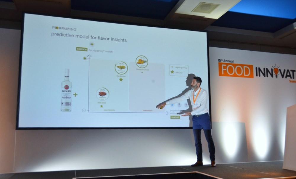 foodpairing, food innovate summit, amsterdam, inovação, alimentos, sra inovadeira, palestra, pesquisa, desenvolvimento, tendência, sabor, Johan Langenbick