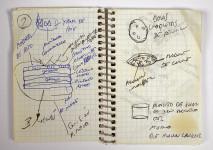 caderno de anotações, alimentos, pesquisa e desenvolvimento, ferran adriá