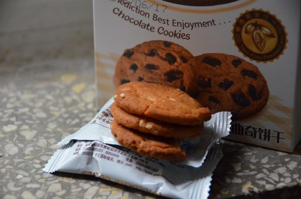 propaganda versus realidade biscoito de chocolate china