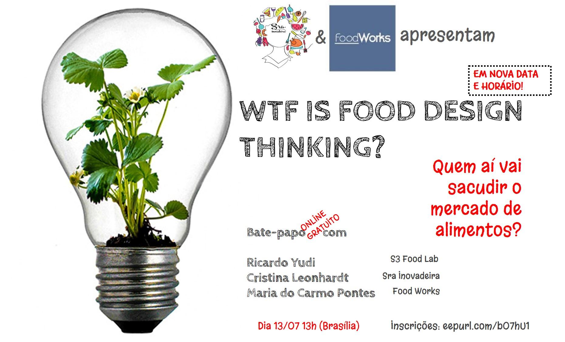 design, thinking, alimentos, inovação, indústria, pesquisa, desenvolvimento, ricardo, yudi, P&D, R&D