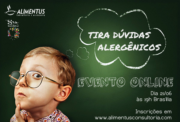 alergênicos, tira, dúvidas, Dafne, Didier, rotulagem, alimentos, sra inovadeira, inovação, alimentus